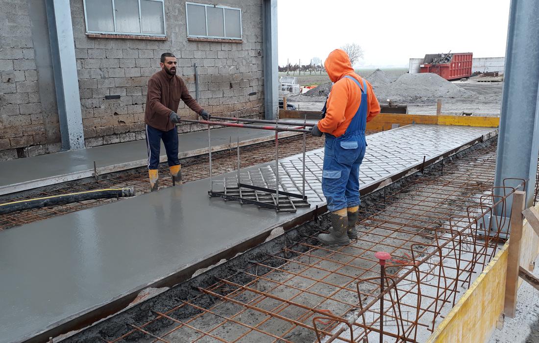 pavimentazione edilizia zootecnica