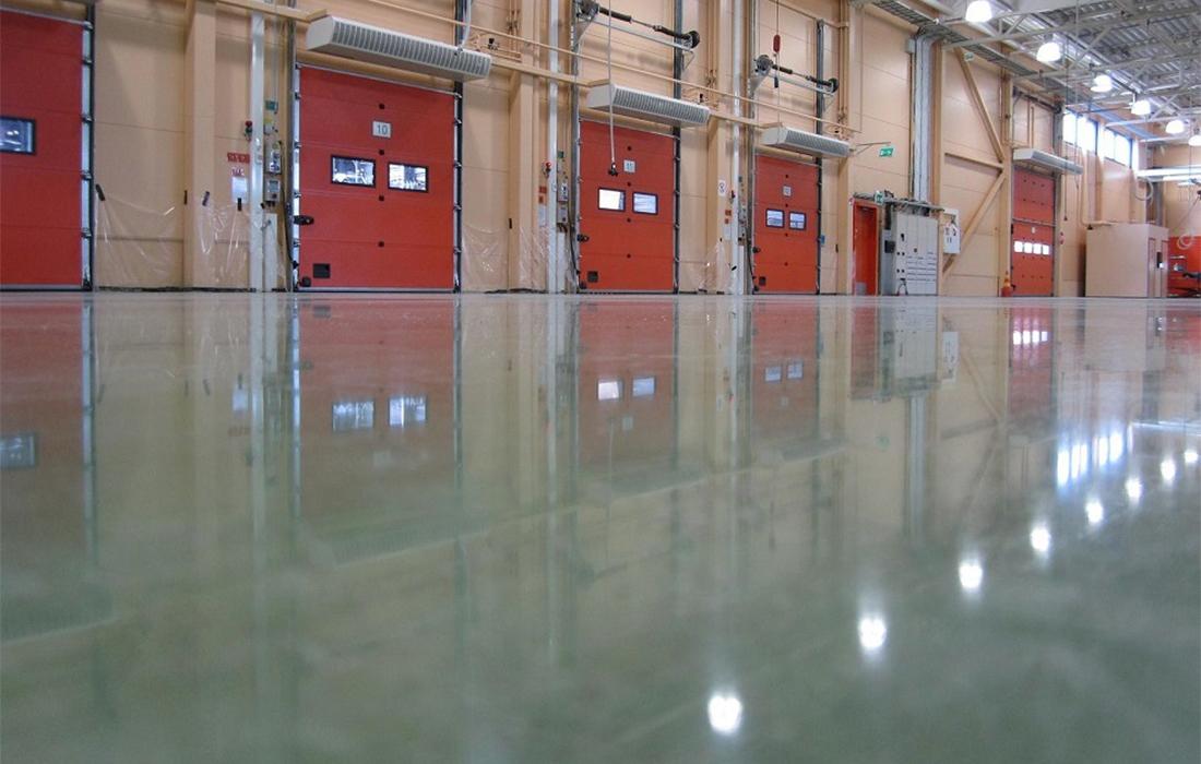 pavimentazione in resina